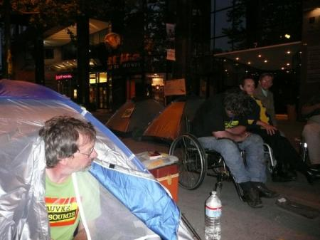 20/21 juin - Campement à Toulouse