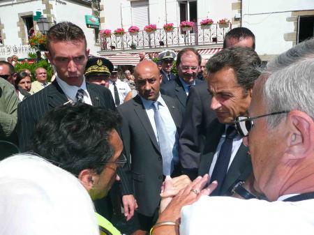 """Actions locales - le président """"dérangé"""" à Batz-sur-Mer"""