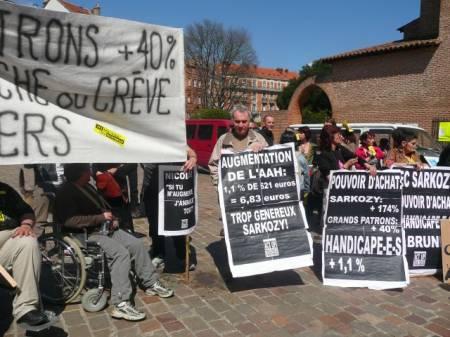 9 avril - préfecture de Toulouse
