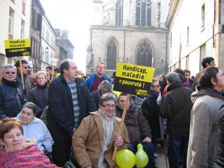 Le 29 janvier, à Troyes, sur les pavés
