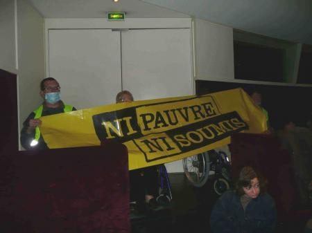Manifestation silencieuse à Nantes