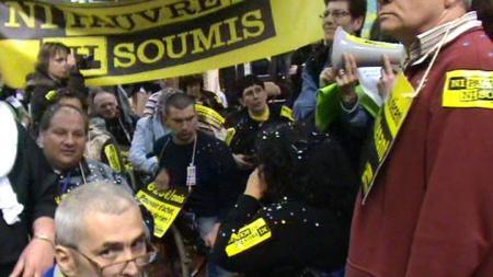 Toulouse: loin des salons, la réalité